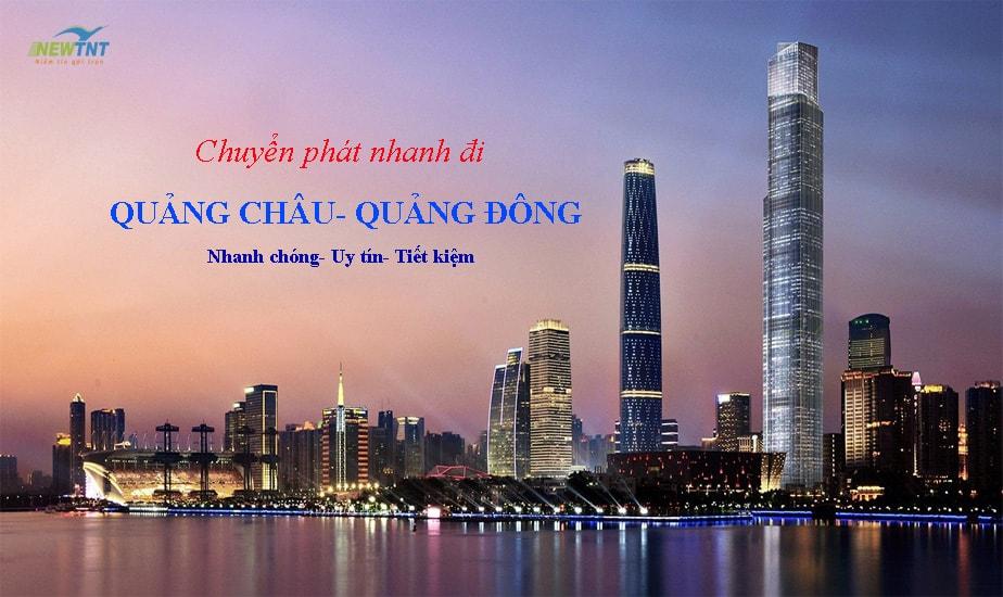Dịch Vụ Chuyển Phát Nhanh đi Quảng đông Trung Quốc