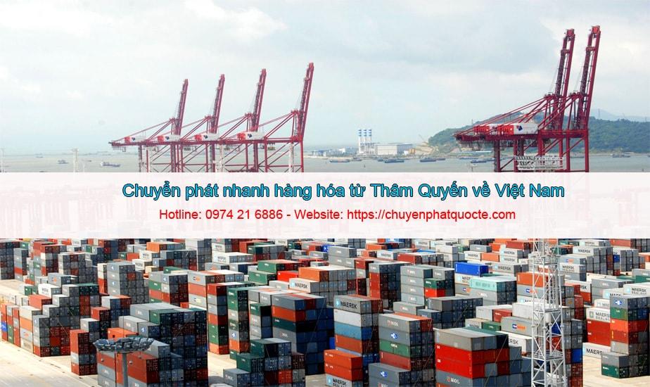 Dịch Vụ Chuyển Phát Nhanh Thâm Quyến Về Việt Nam Tài Lộc