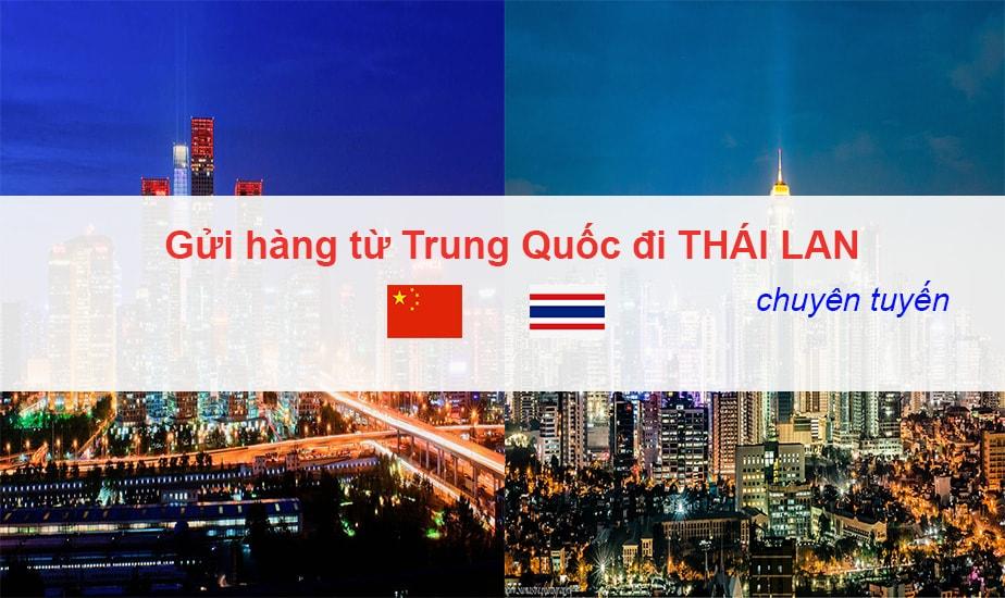 Dịch Vụ Chuyển Hàng Chuyên Tuyến Trung Quốc - Thái Lan